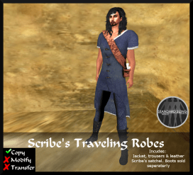 Scribal Travelling Robes