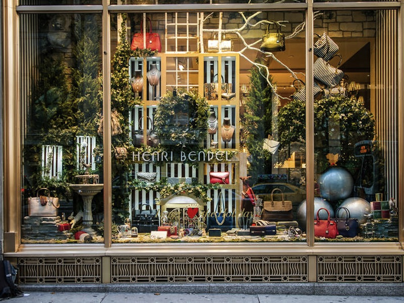 Where To See Christmas Window Displays At Stores In New