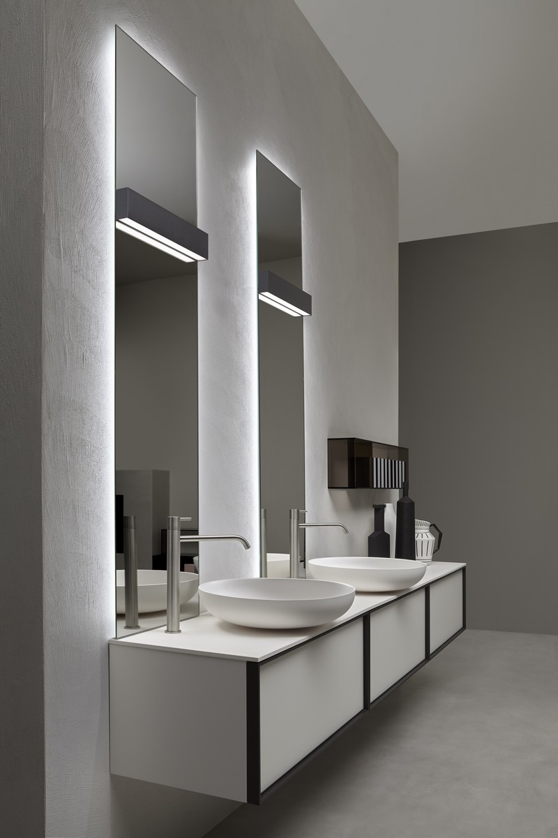 Quality Bathroom Design by Antonio Lupi at Maison et Objet