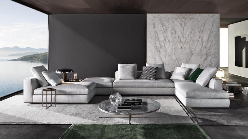l shaped sofa for office seats and sofas telefoonnummer minotti will present new collection at milan design week ...