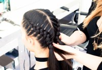 The Boxer Braid (aka Double French Braid): A How-To - Coveteur