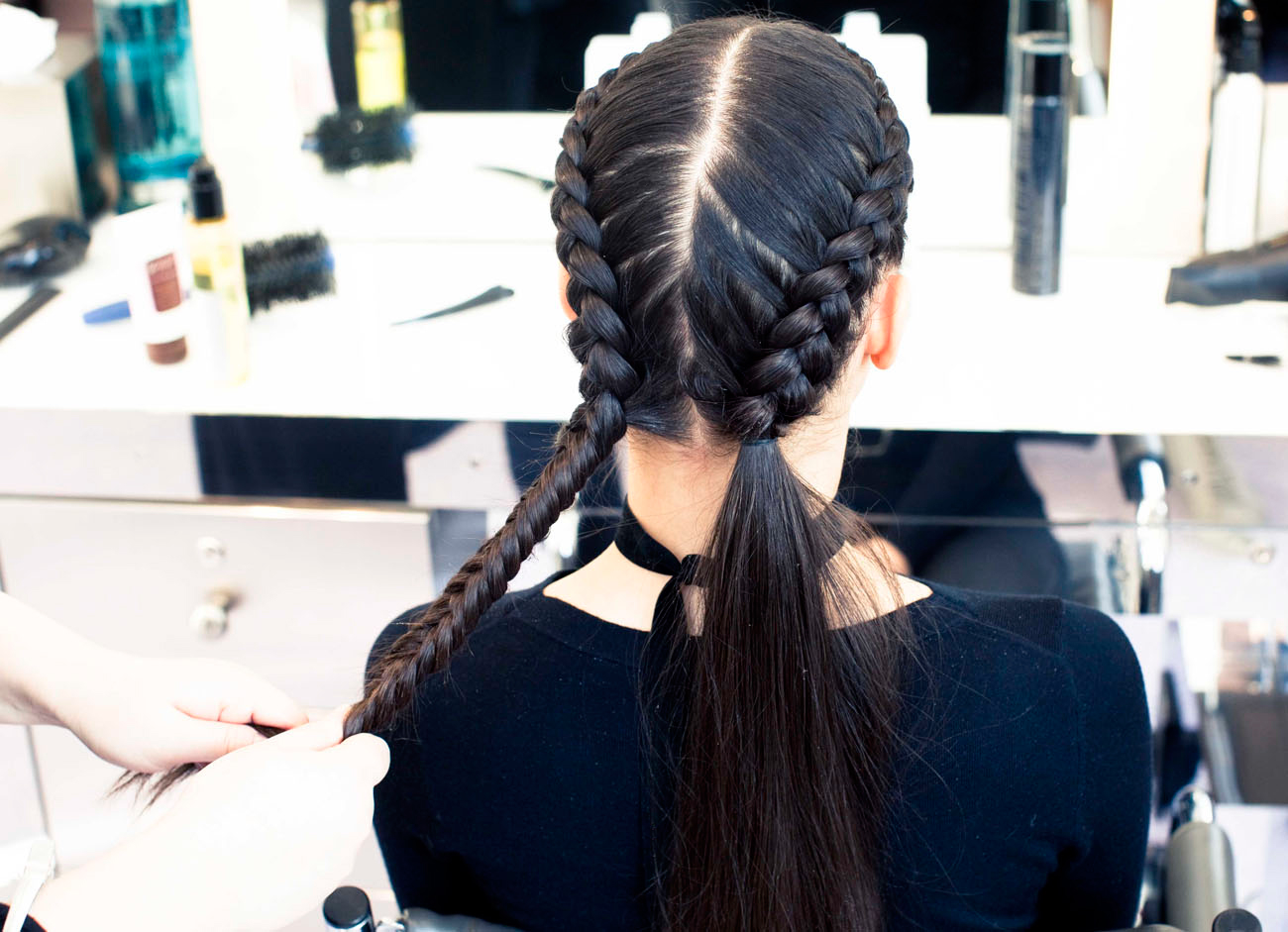 Become A Master French Braider How To French Braid Diagram