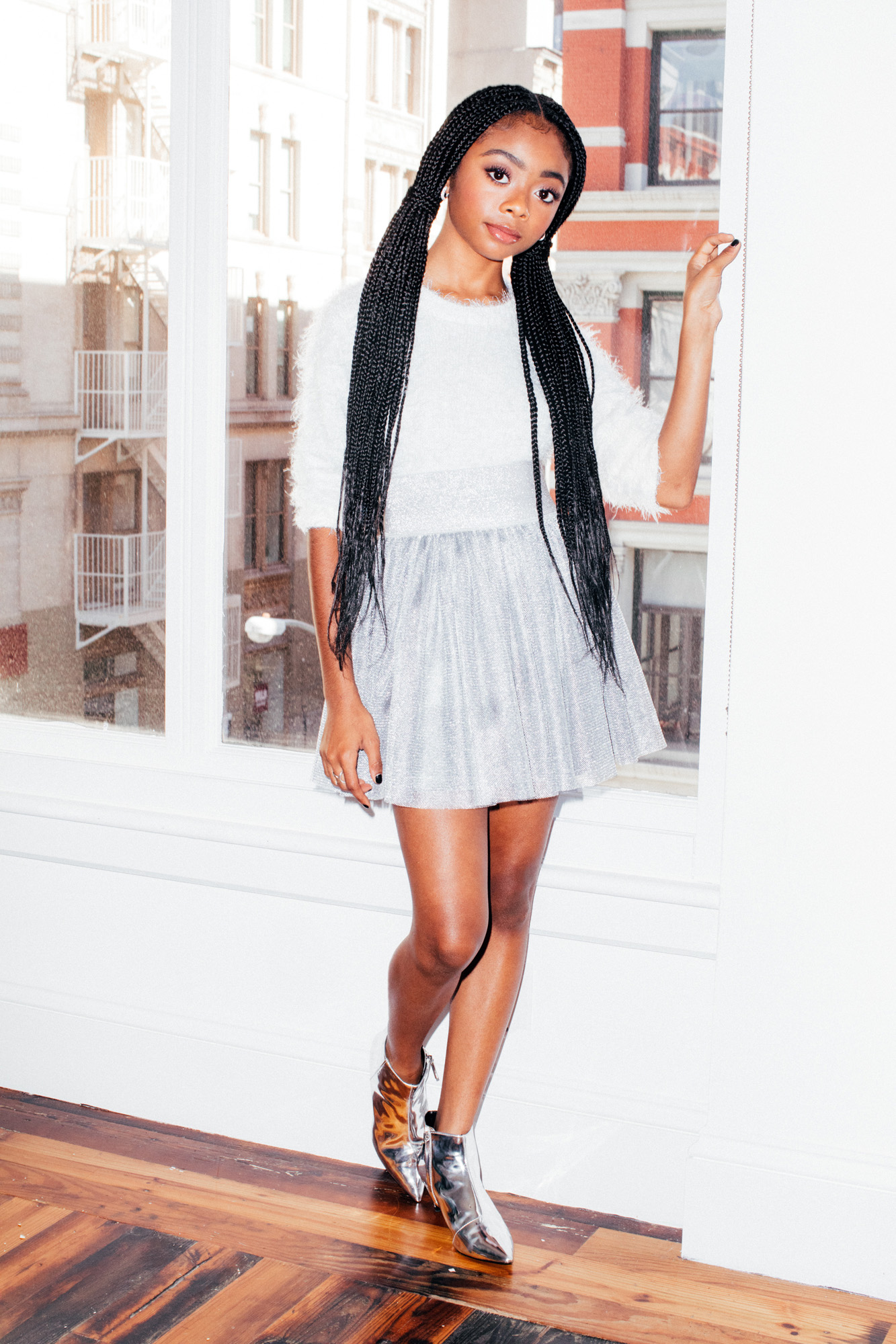 Skai Jackson Talks Her Personal Style Staying Positive