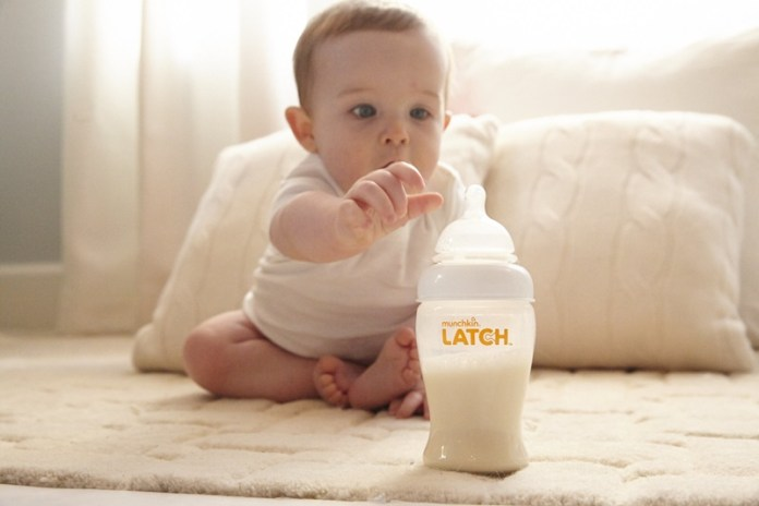 The Latch And Feeding Bottle