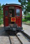An old train wagon