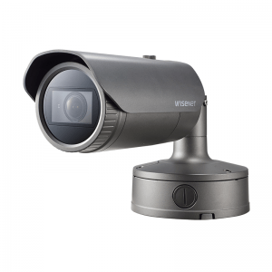 SAMSUNG 5MP Network IR Bullet Camera lens 3.7~9.4mm (2.5x) motorized varifocal lens . POE
