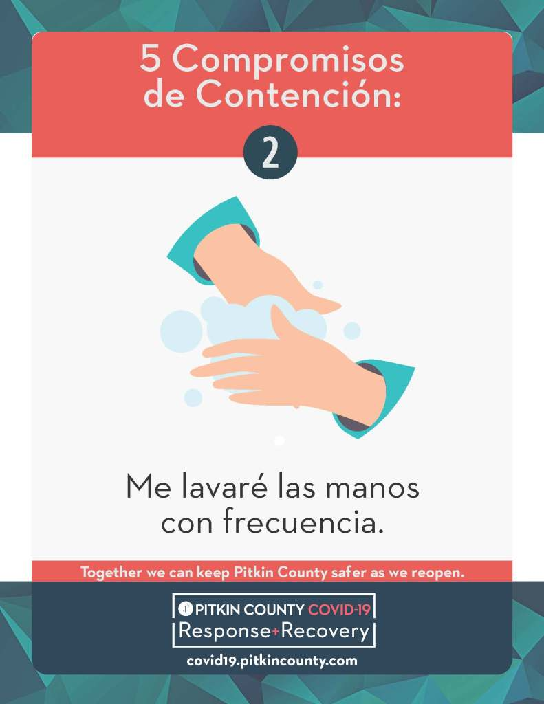 lavarse las manos volante