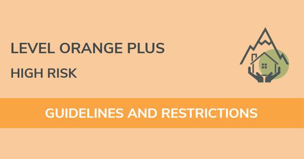 Level Orange Plus high risk