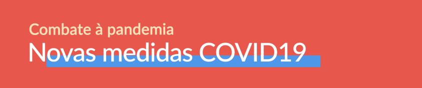 Novas Medidas COVID19