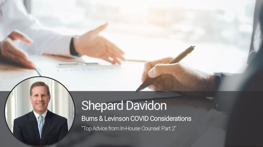 Top Advice from In-House Counsel: Part 2
