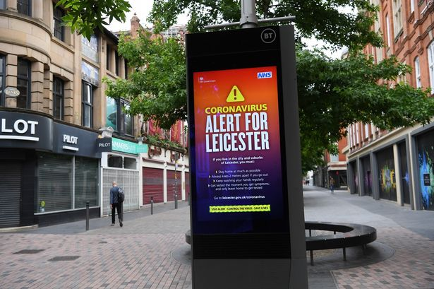 The first local lockdown in Leicester is announced