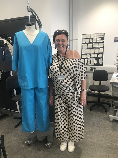 DMU technicians and lecturers make much needed uniforms and PPE for health workers