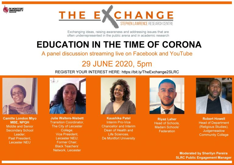 SLRC The Exchange Series – Education in the Time of Corona