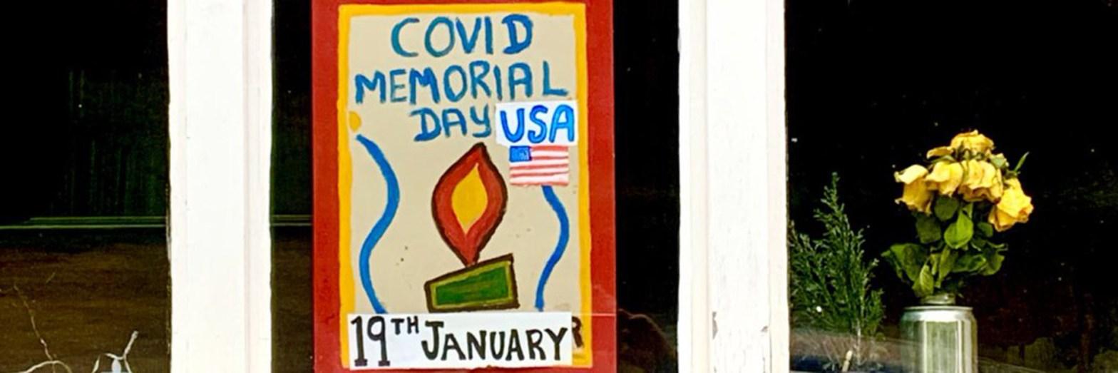 Covid Memorial Day USA
