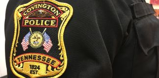 Covington Police Patch