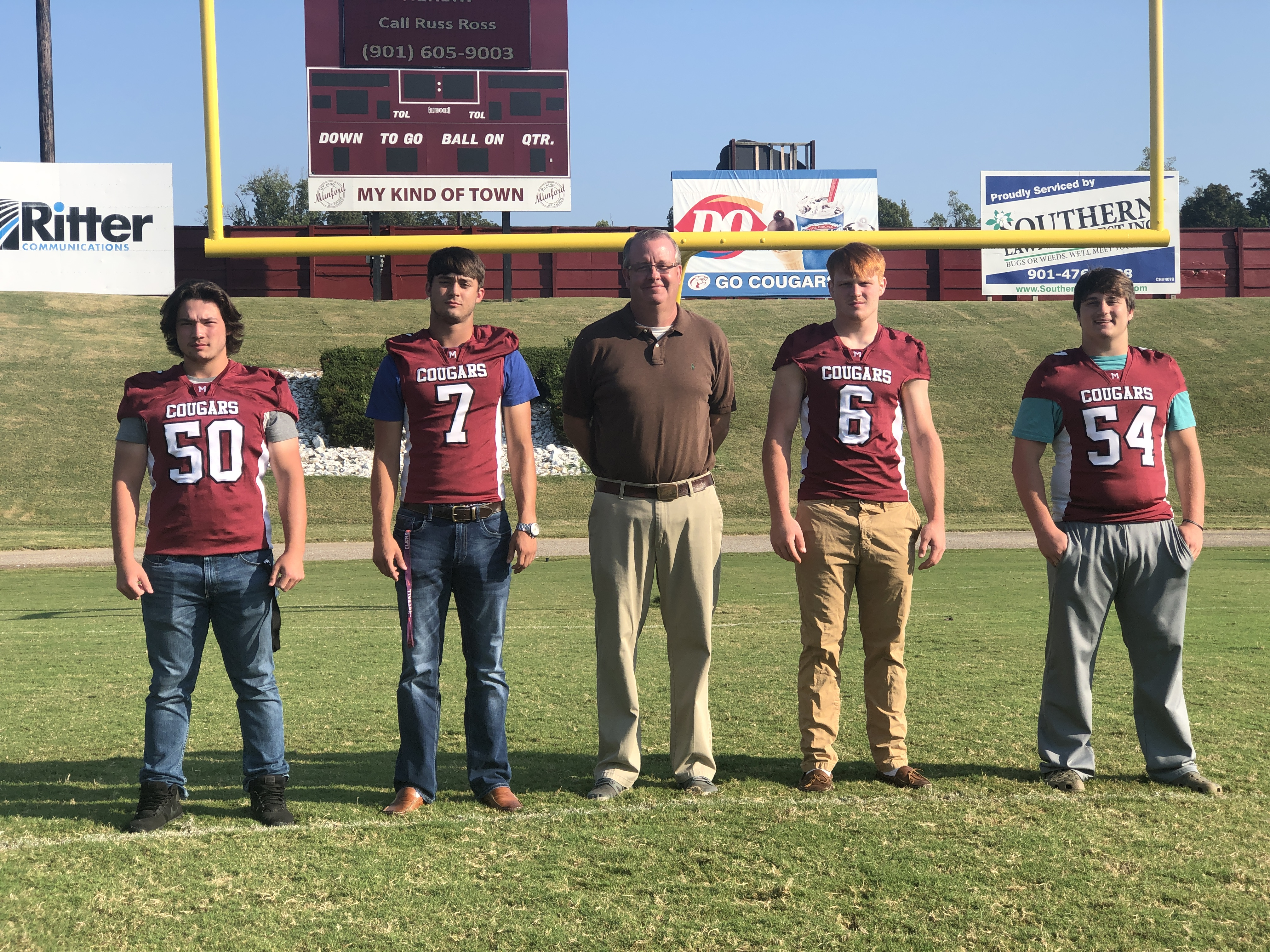 Watch 100 Yards With Four Munford High School Seniors The Leader