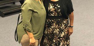 Carletta Gaines and Rita Allen