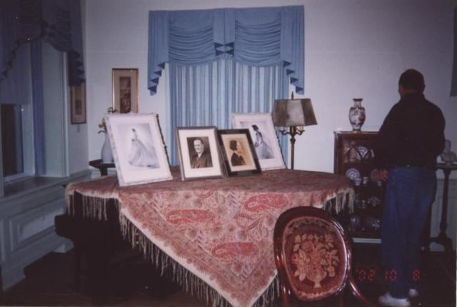 Moffat Estate Living room