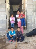Some of the children of Tierra Blanca, a very poor community around the city of San Luis Potosi