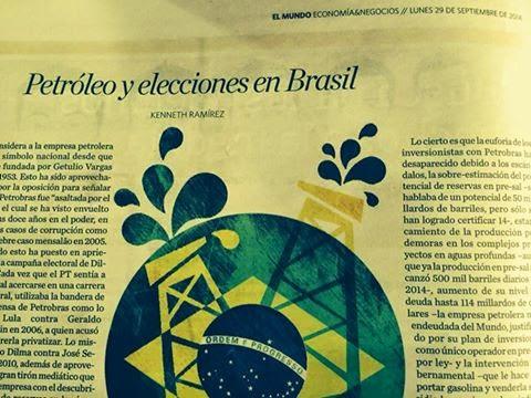 Petróleo y elecciones en Brasil – Por Kenneth Ramírez