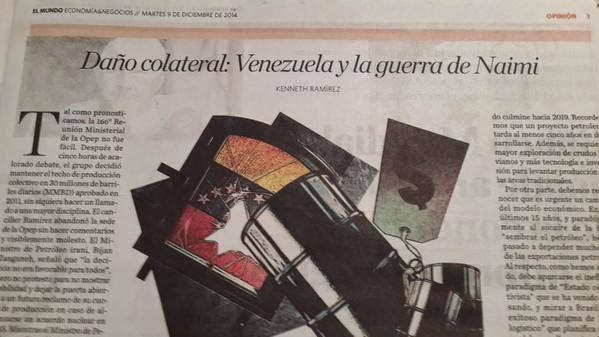 Daño colateral: Venezuela y la Guerra de Naimi – Por Kenneth Ramírez