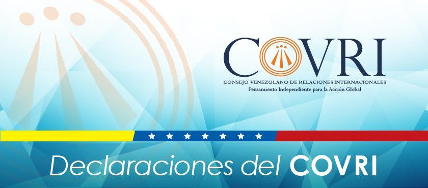 Declaración del COVRI sobre la actual crisis política del MERCOSUR