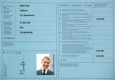 Swiss license until 1992