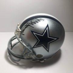 Cowboys Football Helmet Chair Chairs At Homesense Randy White 54 Signed Dallas Mini Victory