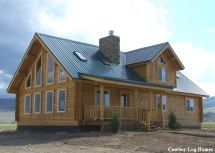 Luxury Log Homes Western Red Cedar Handcrafted