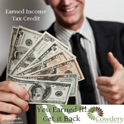 Earned Income Tax Credit   Cowdery Tax