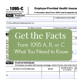 Form 1095 is New for the 2015 Tax Season, Get the Facts