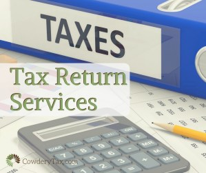 Tax Return Services | CowderyTax.com