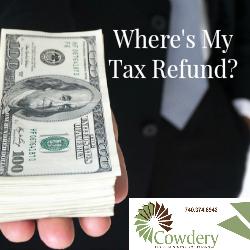 Where's My Tax Refund?   CowderyTax.com