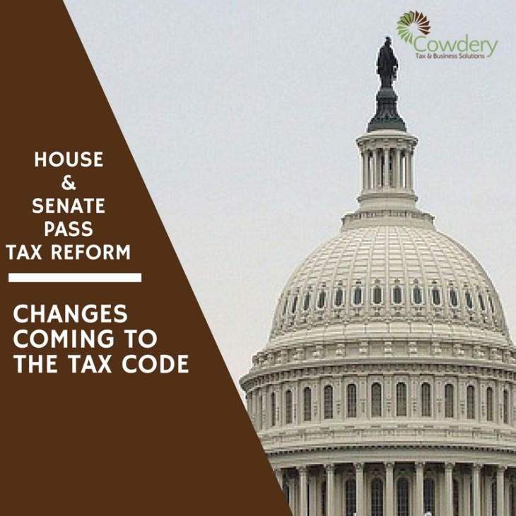 Tax Reform coming to U.S. Tax Payers | CowderyTax.com #taxes