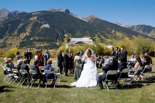 September Ceremony In Silverton Colorado Weddings