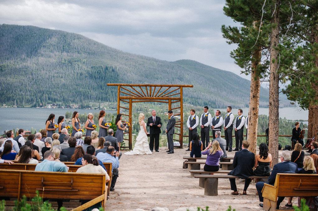A Country Rustic Wedding On Grand Lake Colorado Weddings Magazine Luxe Mountain Weddings