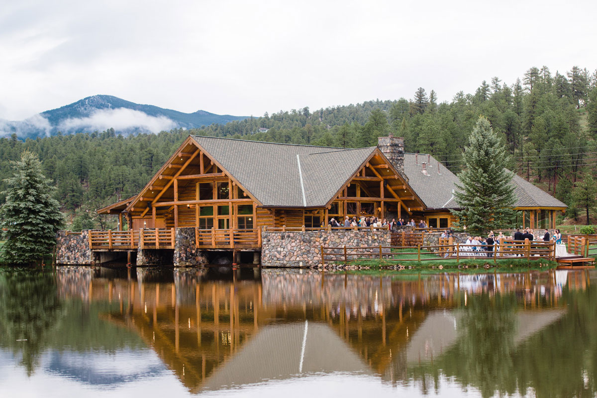 A Spring Wedding At Evergreen Lake House Colorado Weddings Magazine Luxe Mountain Weddings