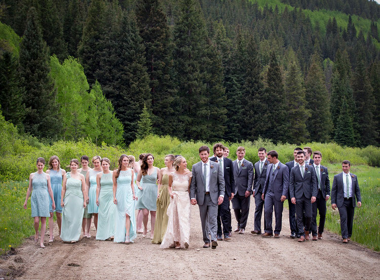 A Crested Butte Mountain Resort Wedding Colorado Weddings Magazine Luxe Mountain Weddings