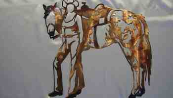 etsy-horse-cowgirl-metal-art