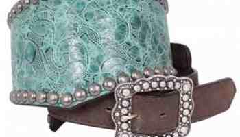 Wide Western Belts by Double J Saddlery
