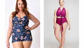 plus sized swimwear