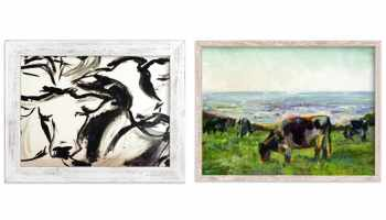 Cool cattle prints from Minted