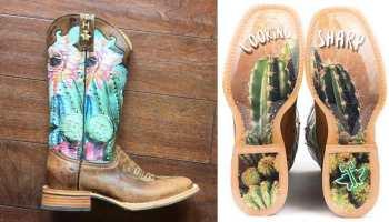 tin haul cactus boot cacti cowgirl magazine