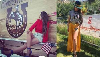 cowboy Christmas fashion outfit western Calgary stampede Cheyenne frontier days frontier Cody stampede nfr rodeo trail
