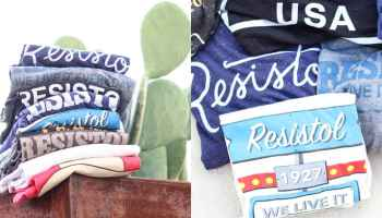 resistol graphic tee tees t-shirt hatco hat-co Charlie 1 horse stetson garland cowgirl magazine