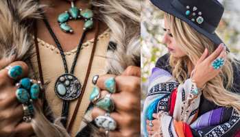 prairie sky jewelry company turquoise photo shoot cowgirl magazine