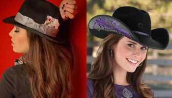 charlie 1 horse cowgirl magazine hat hats transformation hat transformation