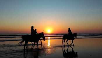 """Cowgirl Magazine"" - Beach"