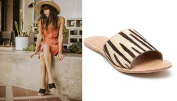 going crazy for coconuts cowhide slides cowgirl magazine