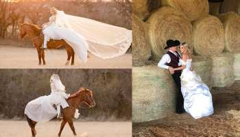Tiffany Cooper Tuf Cooper bridals cowgirl magazine